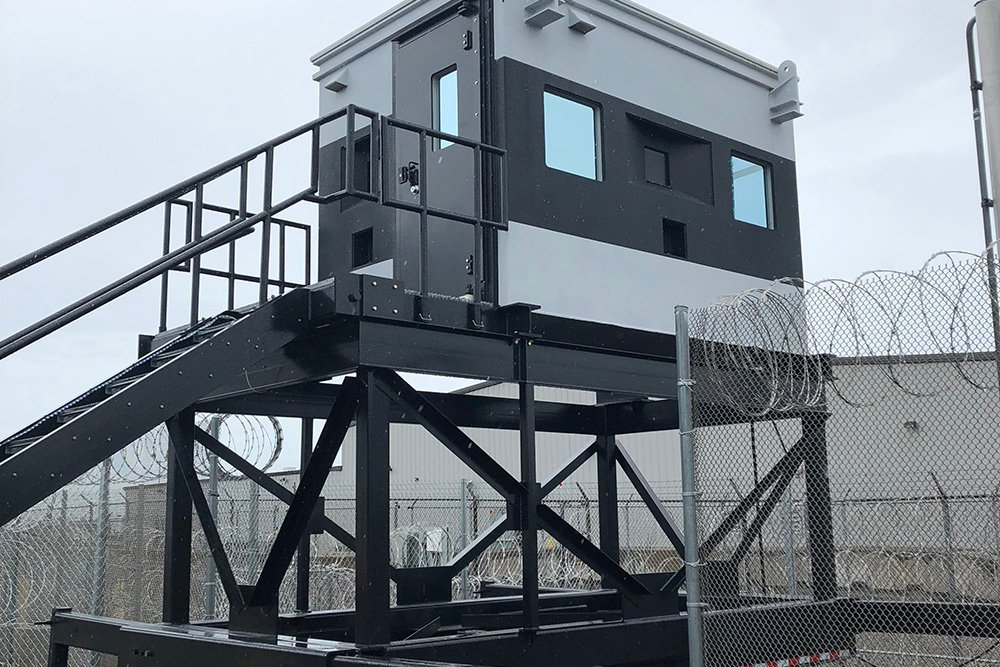 Mobile Elevated Blast Rated Enclosure