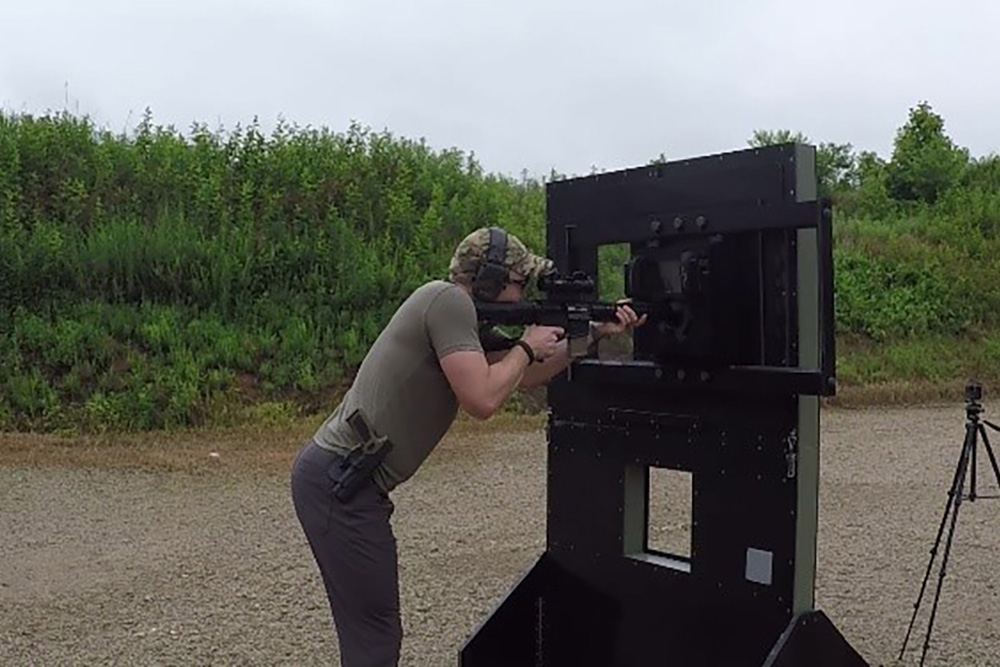 Mobile Tactical Training Wall Kontek Industries